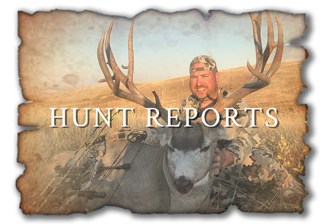 Mackin Outfitting Ltd Hunt Reports