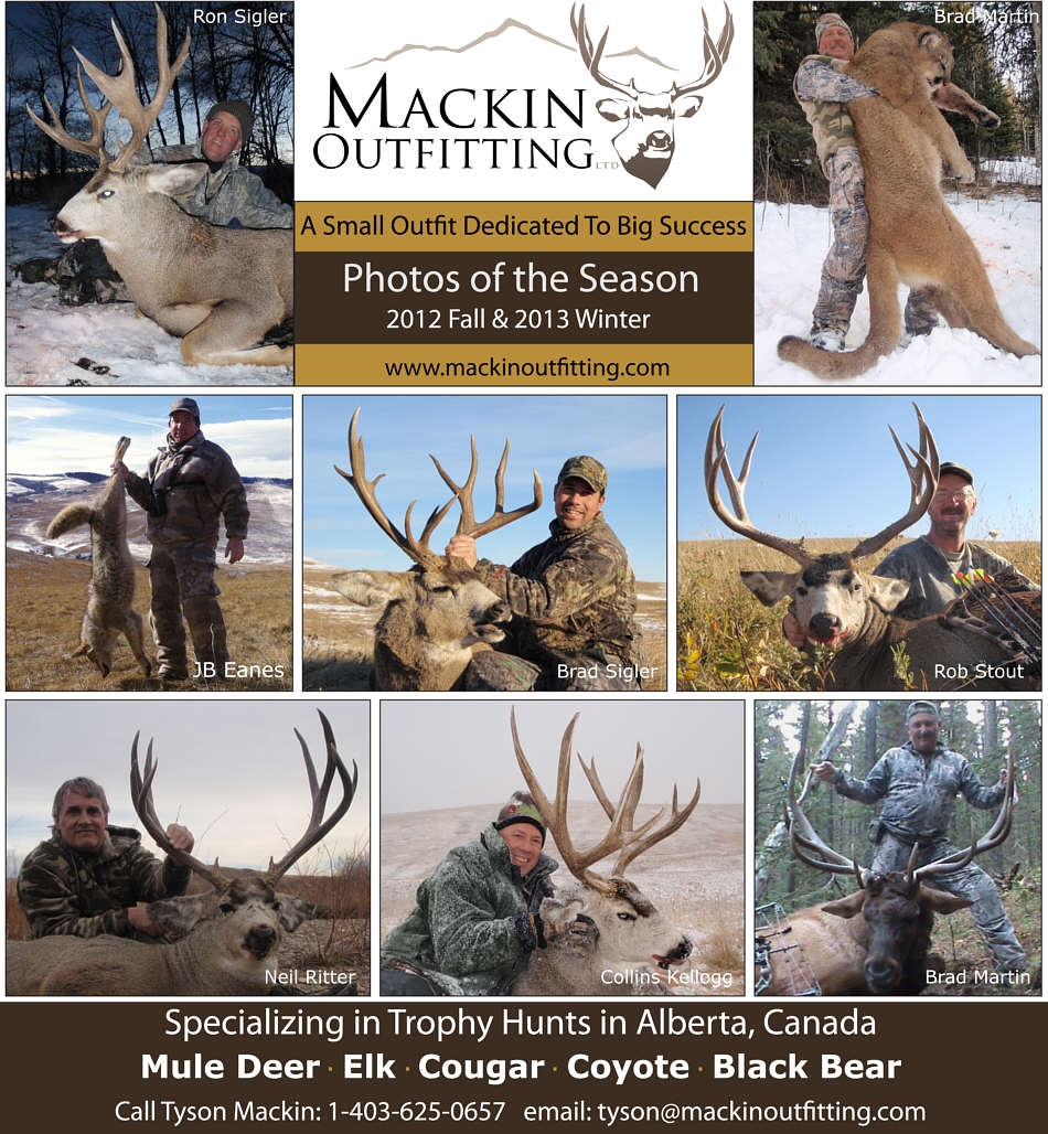 2012 Fall & 2013 Winter Hunt Report