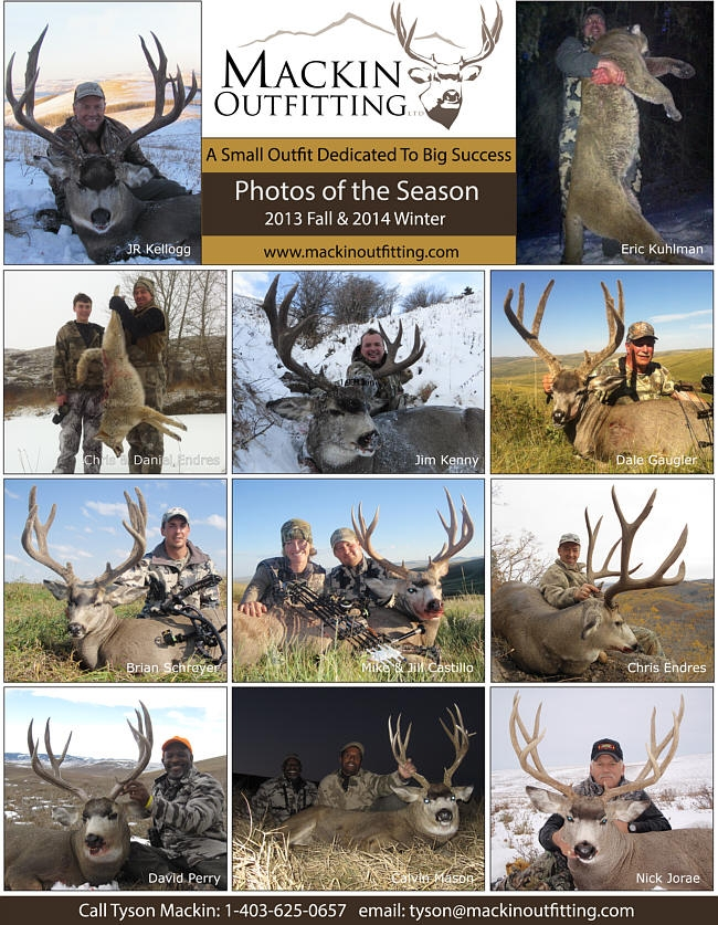2013 Fall & 2014 Winter Hunt Report