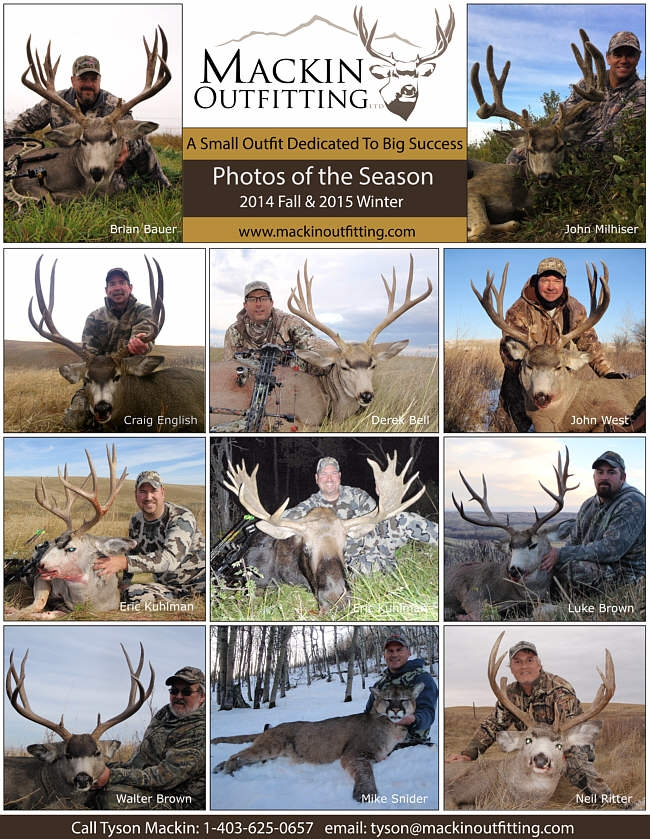 2014 Fall & 2015 Winter Hunt Report