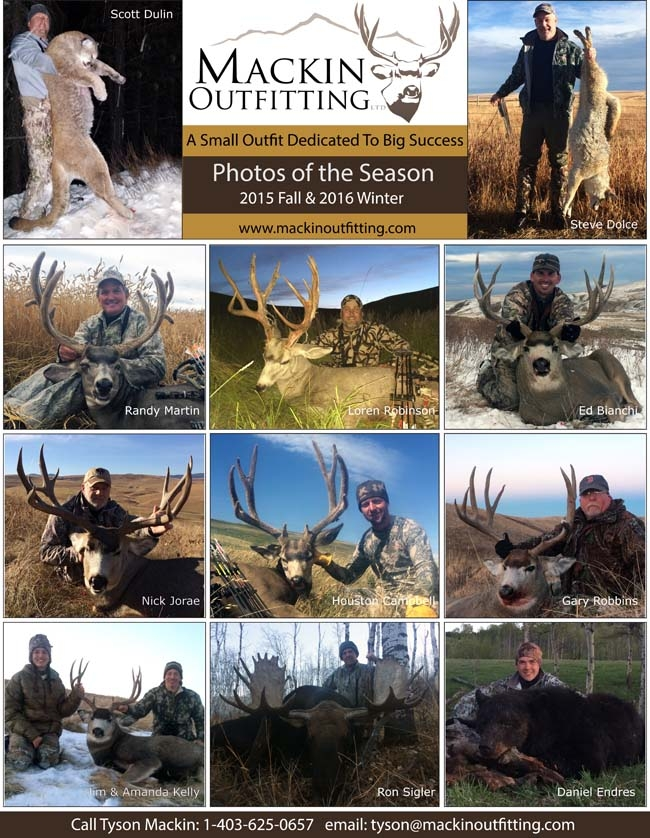 2015 Fall & 2016 Winter Hunt Report