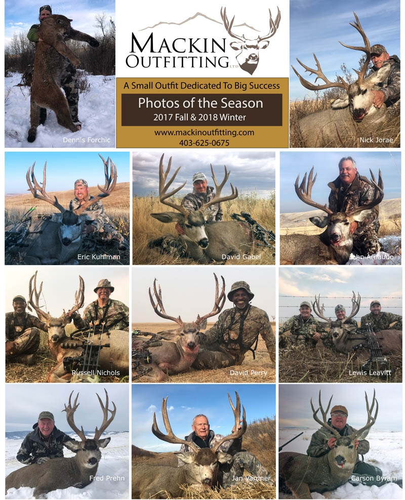 2017 Fall & 2018 Winter Hunt Report